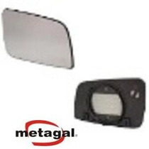 Lente Retrovisor Novo Palio 2012 Original Metagal