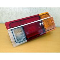Lanterna Traseira Voyage 82/84/86/88/89/90 Acrilico / F-crom