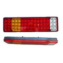 Lanterna De Led Traseira Para Caminhão 12v - 64 Leds