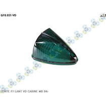 Lente P/ Lanterna Cabine Mercedes-benz 84/... Verde