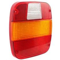 Lente Lanterna Traseira Caminhão Ford / Vw (marmitão) Novo