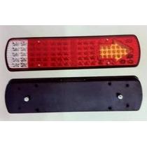 Lanterna De Led Traseira Para Caminhão 12v - 95 Leds - Zd013