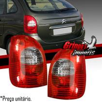 Lanterna Traseira Xsara Picasso 05 06 07 08 09 Bicolor Novo