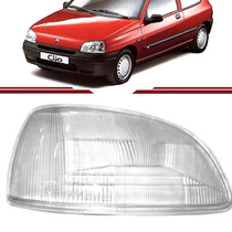 Lente Vidro Farol Renault Clio 1996 1997 1998 96 97 98 99