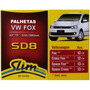 Palhetas Slim Blade Original Dyna Sd8 Vw Fox 2012>