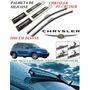Kit Palheta Dianteira De Silicone Chrysler Pt Cruiser 2000