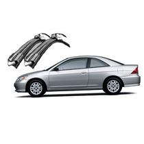Palheta Limpador Slim Brad Silicone Rodo Honda Civic 91 A 05