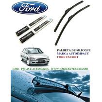 Palheta Automotiva De Silicone Específica Ford Escort Zetec
