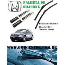 Palheta Automotiva Silicone Honda Cr-v 2008 Em Diante