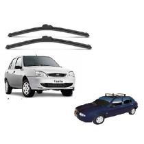 Kit Limpador Diant. Palheta Silicone Ford Fiesta 96/02