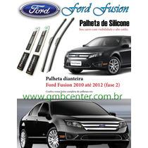 Palheta Silicone Ford Fusion 2010, 2011, 2012 Fase2 Original