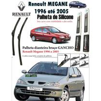 Palheta Dianteira Silicone Renault Megane 1996, 98, 00, 2005
