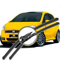 Palheta Fiat Punto 2008 Em Diante - Kit Dianteiro E Traseiro
