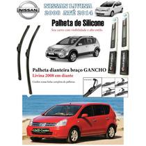 Palheta Dianteira Silicone Nissan Livina E Grand Livina 2008