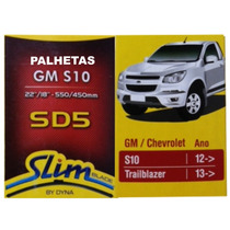 Palhetas Slim Blade Original Dyna Sd5 Gm S-10 Trail 2012>