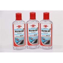 Kit 3 Unid. Cristalizador De Vidros Water Off - 100ml Wurth