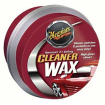 Cera Meguiars Cleaner Wax 311g Pasta Importada Fantástica