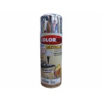 Tinta Spray - Colorgin Metallik Interior 350ml - Cromado