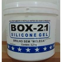 Silicone Gel Box 21 Para Carros Plásticos E Couro Galão 3.2l