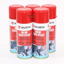 Kit - 5 Hsw Higienizador De Ar Condicionado Wurth (limao)