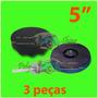Kit Polimento - Boina De Espuma + Suporte C/velcro 5 Pol.