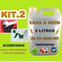 Lavagem Carro A Seco Alto Brilho + Micro Fibra + Borrifador