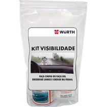Kit Visibilidade Repelente De Chuva + Antiembaçante - Würth