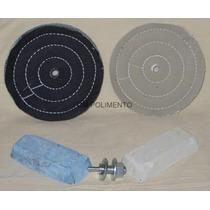 Kit Polimento/ Lustro Aluminio-partes De Moto/carro,perfil