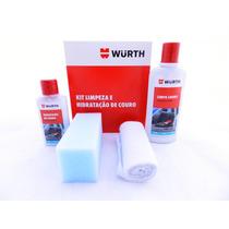 Kit Limpeza E Hidratação De Couro Wurth - Faça Você Mesmo