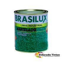 Tinta Esmalte Marteladoo - Verde Brasil Brasilux 900 Ml