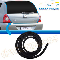 Borracha Tampa Traseira Porta Malas Clio Hatch 2000 A 2012