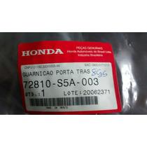 Borracha De Porta Civic 2001/2006 Traseiro Direito