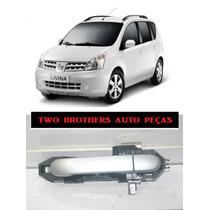 Maçaneta Traseira Esquerda Nissan Livina