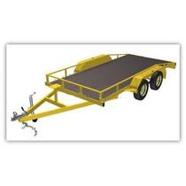 Projeto Para Fabricação De Reboque Truck (2 Eixos) -download