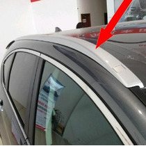 Trilhos Teto P/ Rack Transversal Mod. Orig. Honda Cr-v 12-14