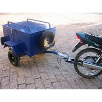 Engates Reboque Pino Bola Para Carretinha Em Moto Cg Ybr