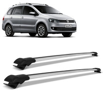 Travessa Spacefox 2006 2007 A 2014 Rack Teto Larga Prata Vw