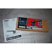Rack Thule Bases Mod. 417 Para Carros Com Trilhos No Teto