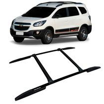 Bagageiro Maleiro Teto Rack Chevrolet Spin Em Aluminio