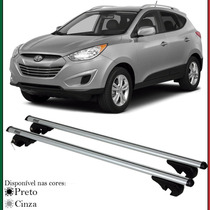 Par Travessa Rack Teto Longarinas Hyundai Tucson 04 Até 15