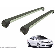 Rack Teto Renault Fluence Long Life Prata