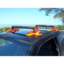 Rack 12 Ventosas Caiaque Surf Sup + Par De Fitas Amarração