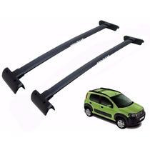 Par Travessas Fiat Uno Way Modelo Novo 2011 Rack Bagageiro