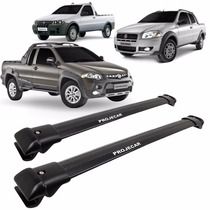 Projecar Travessa Pick Up Strada Locker Preta