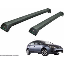 Rack Teto Citroen C4 Hatch Long Life Preto