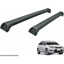 Rack Teto Focus Hatch Sedan 2010 A 2013 Long Life Preto