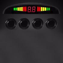 Sensor De Ré 4 Pontos Estacionamento Display Led