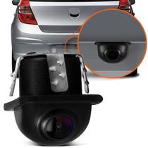 Mini Câmera De Ré Automotiva Colorida Placa Visão Noturna