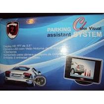 Sensor De Ré 4pontos, Câmera E Display 3,5 Hd Zapos