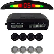Sensor De Estacionamento Ré 4sensores Display E Sinal Sonoro
